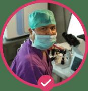 embryologist at gunjan ivf world